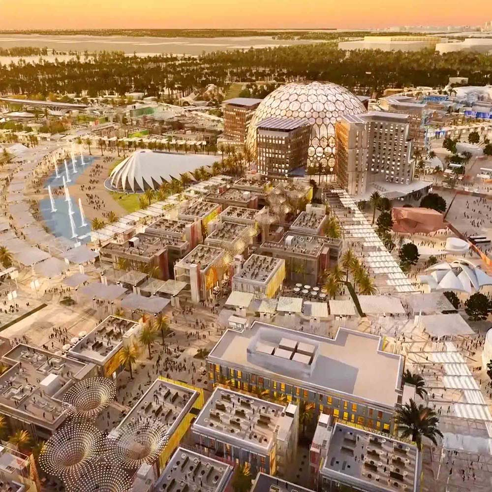 Expo 2020 Operations Pavilion